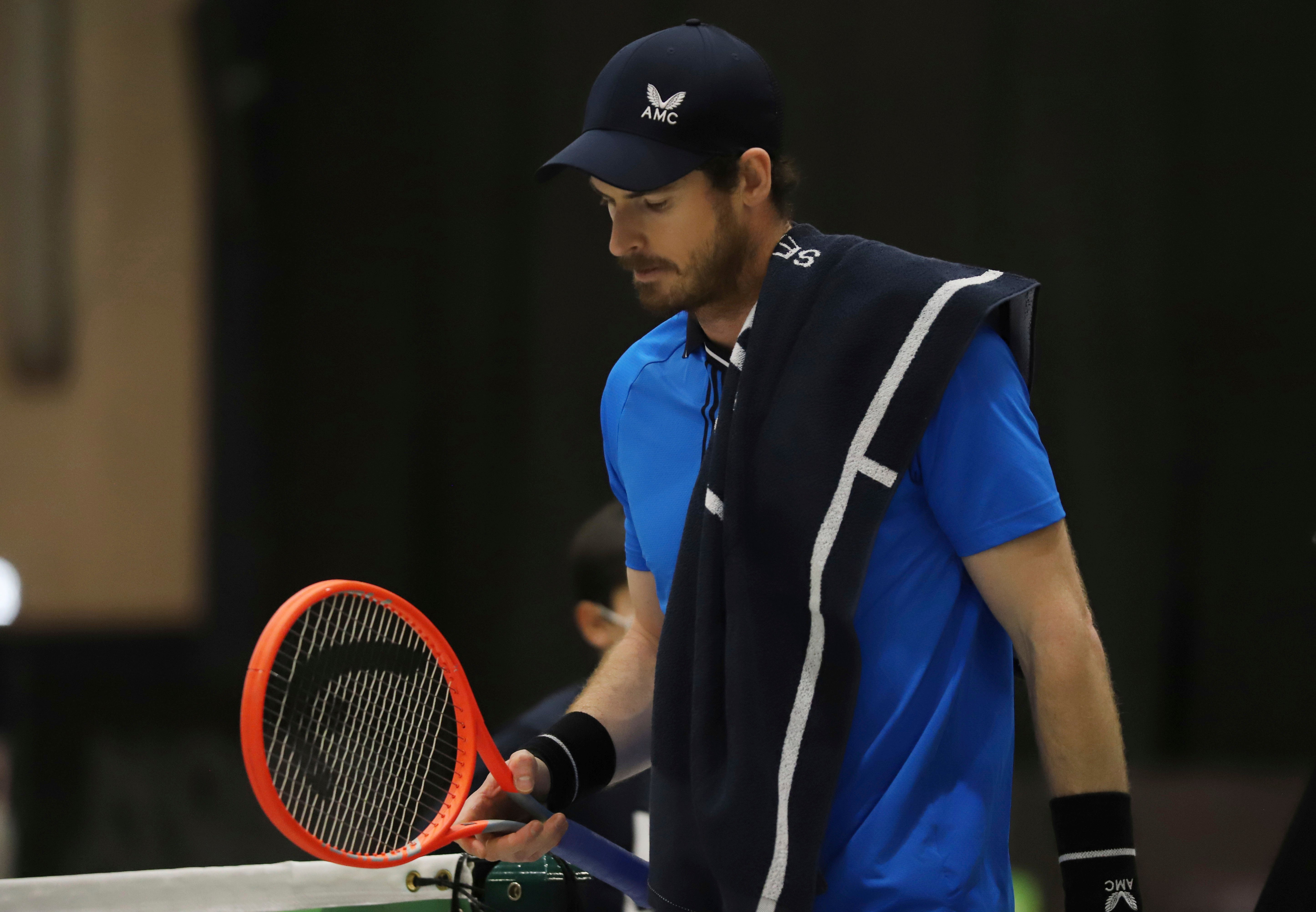 Andy Murray out of Open Sud de France after losing to Egor Gerasimov