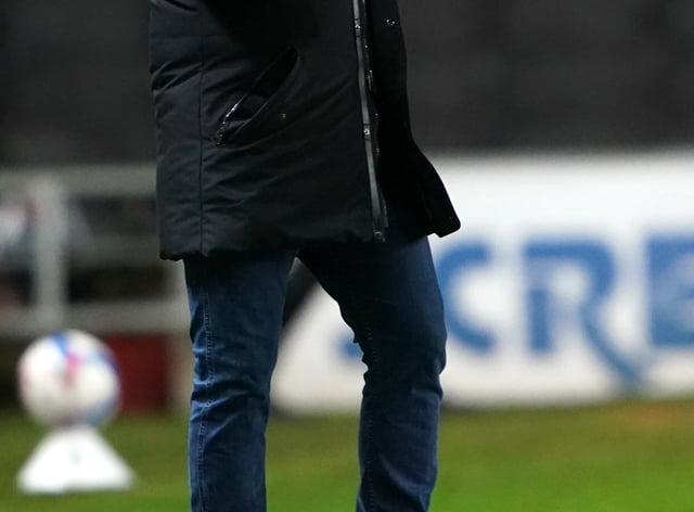 Lee Johnson on the touchline for Sunderland