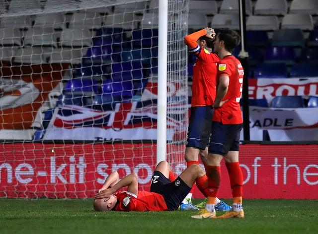 Luton Town v Millwall – Sky Bet Championship – Kenilworth Road