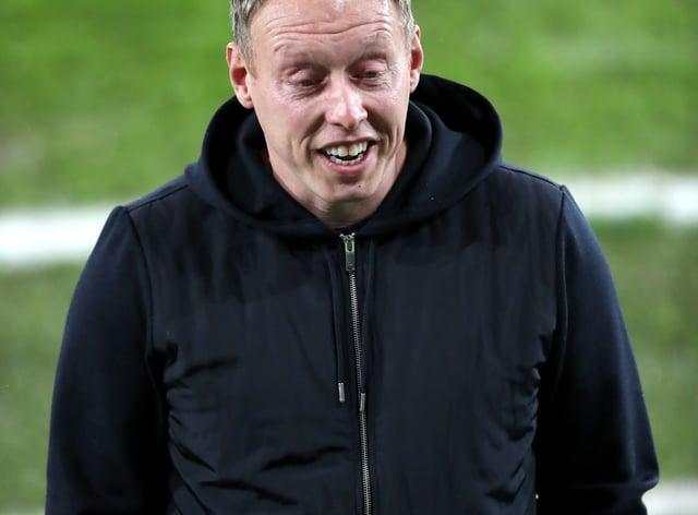 Steve Cooper was a happy man after Swansea's win