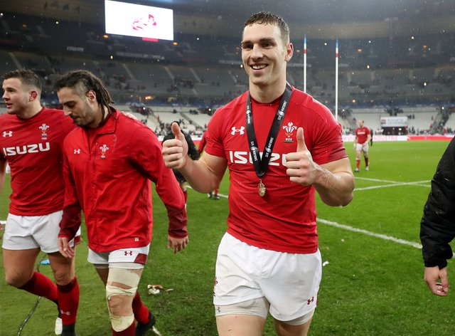George North 100 caps for Wales
