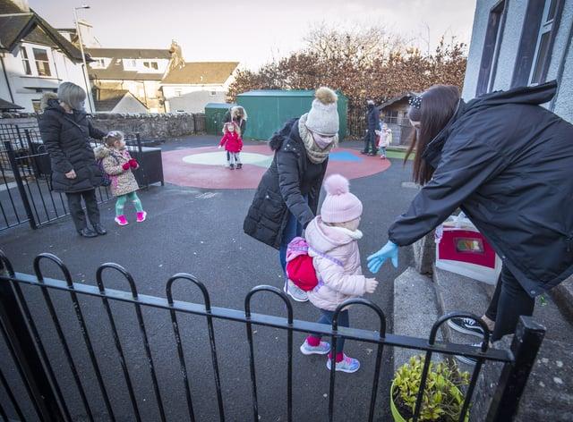 Nursery pupils return