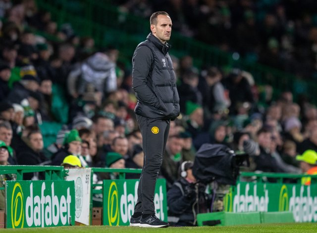 John Kennedy has taken interim charge of Celtic