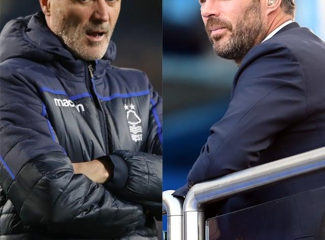Jamie Redknapp and Roy Keane