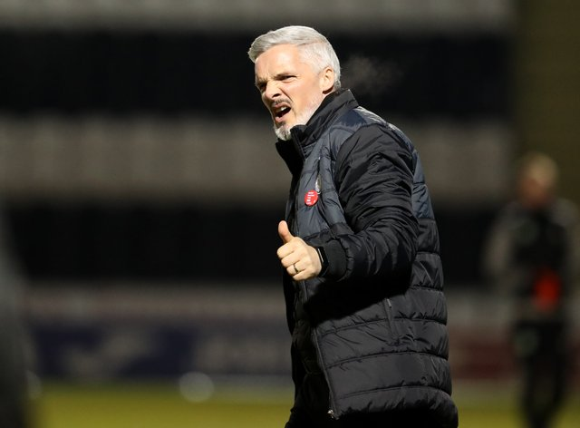 Jim Goodwin's side are closing in on a top-six finish