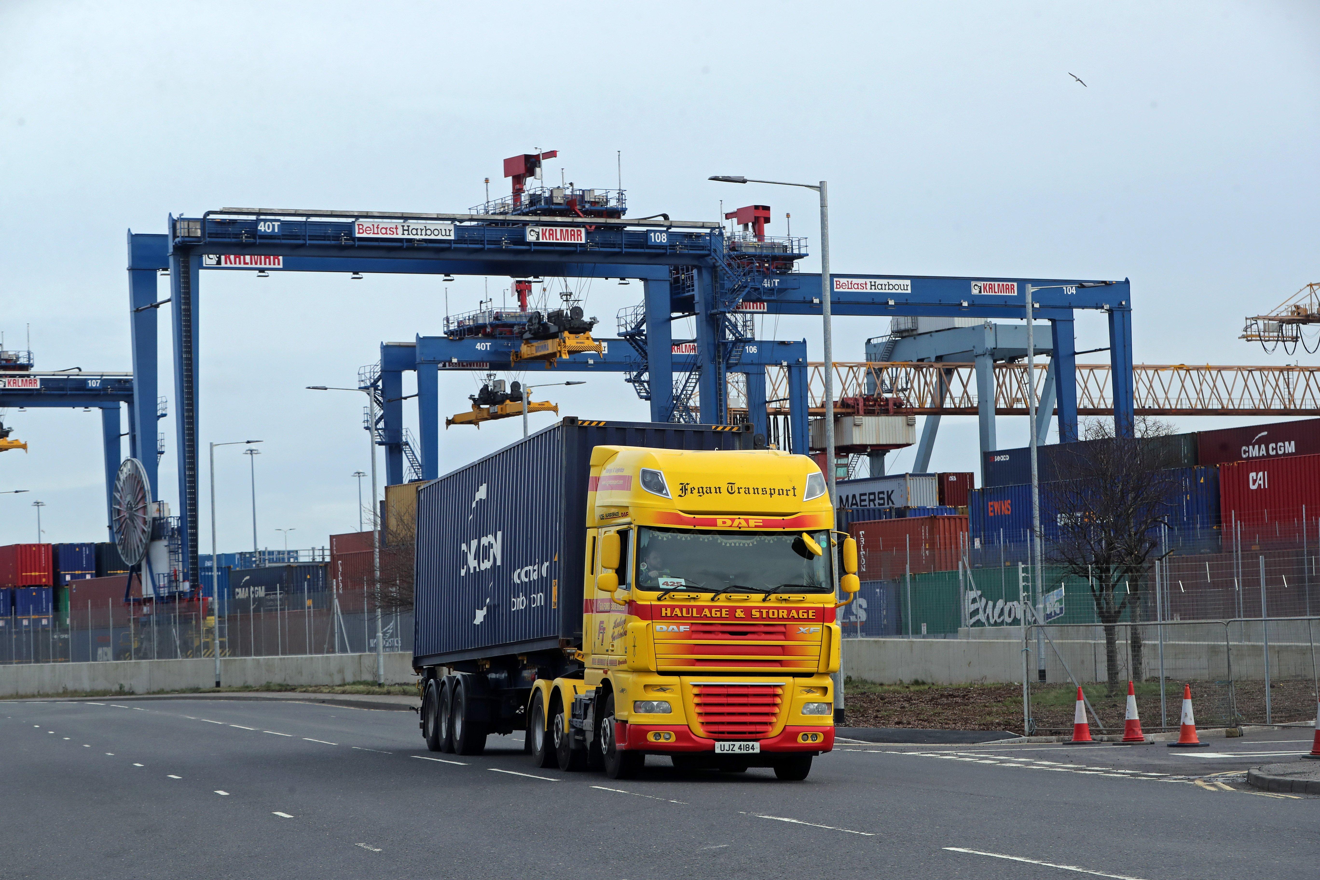 Stormont minister to face Executive scrutiny over port checks construction halt