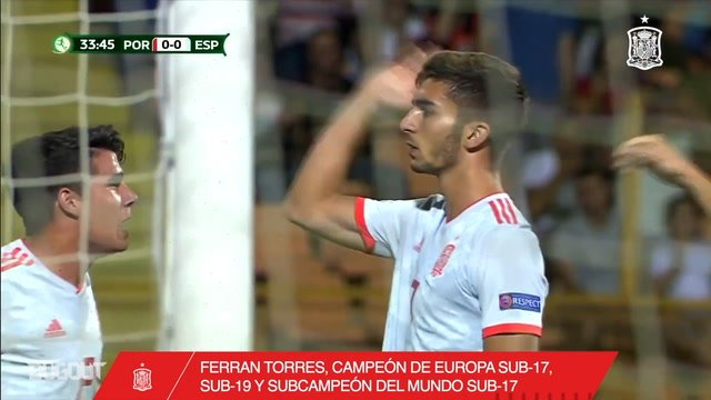 Ferran Torres's best moments with the Spanish national team