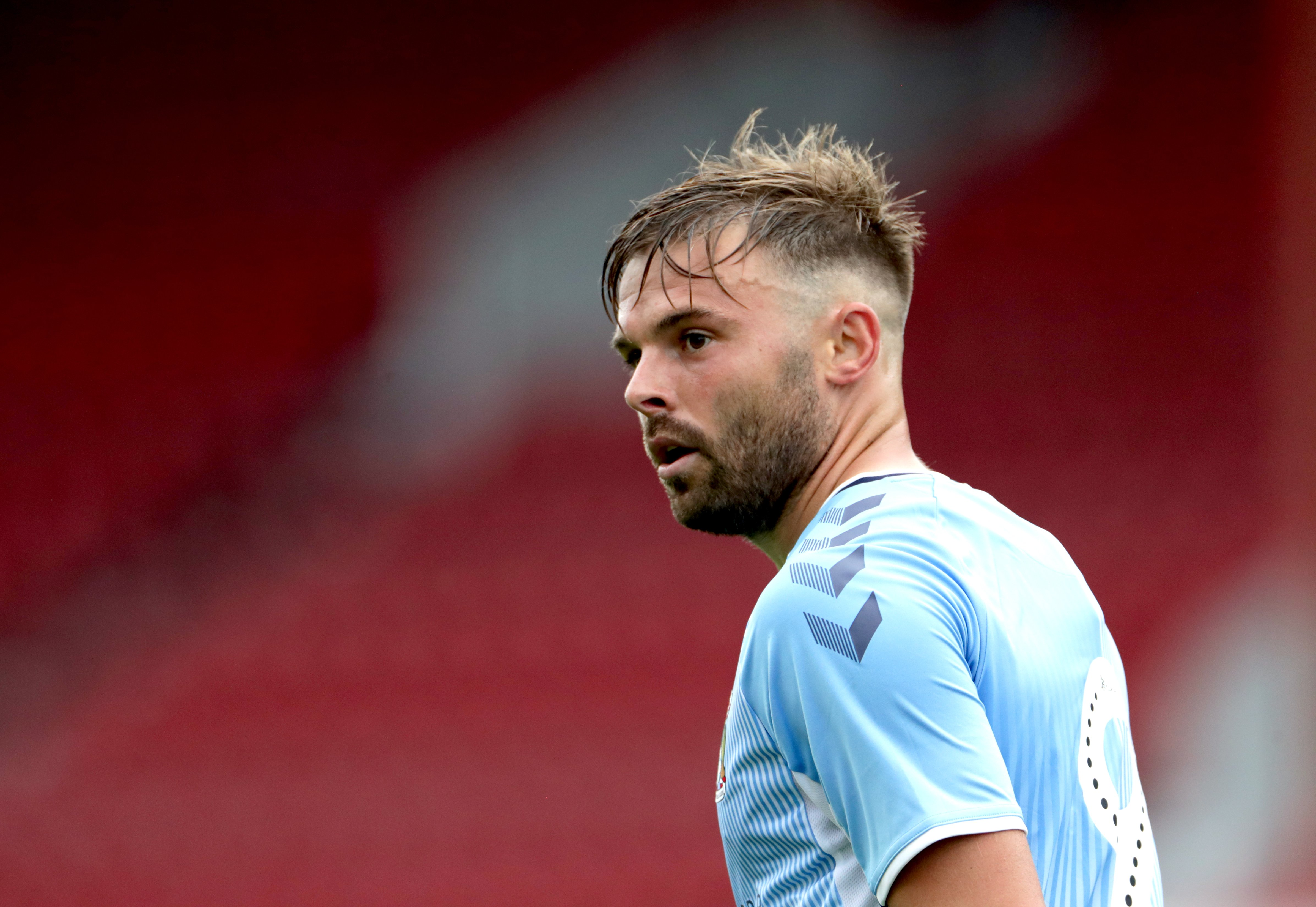 Matty Godden could return for Coventry against Middlesbrough