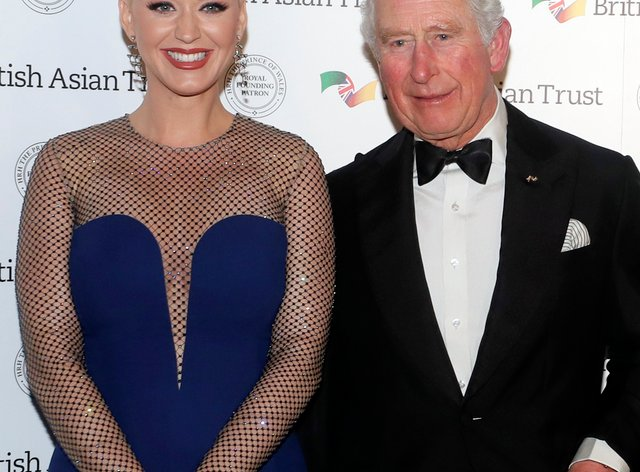 The Prince of Wales with Katy Perry