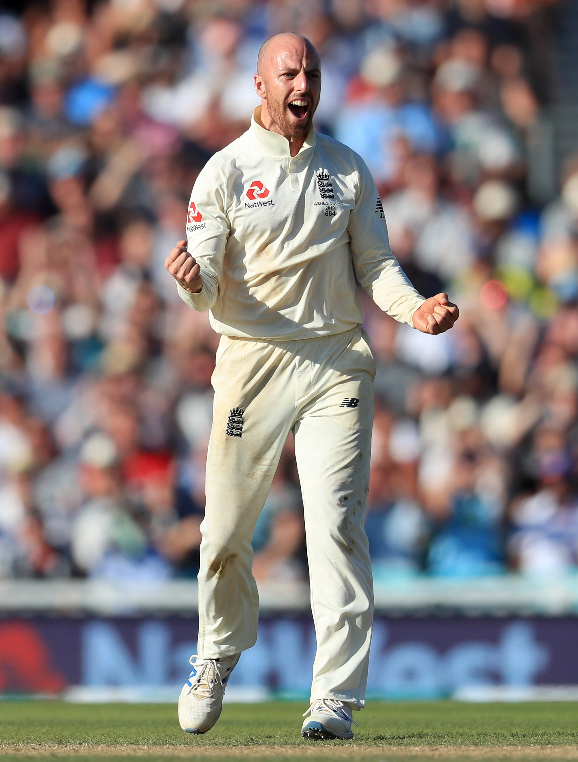 Jack Leach feels here to stay after establishing himself as top England spinner