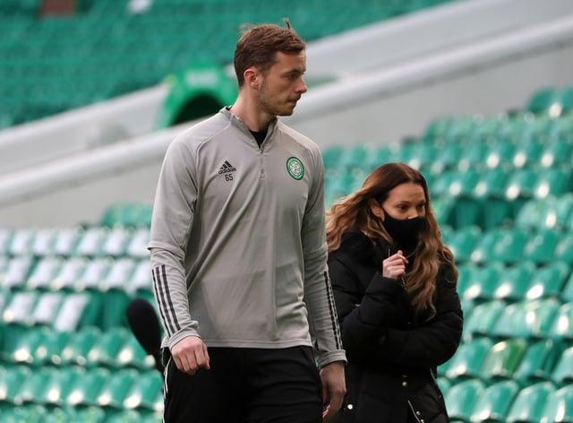 Conor Hazard confident of improvement at Celtic