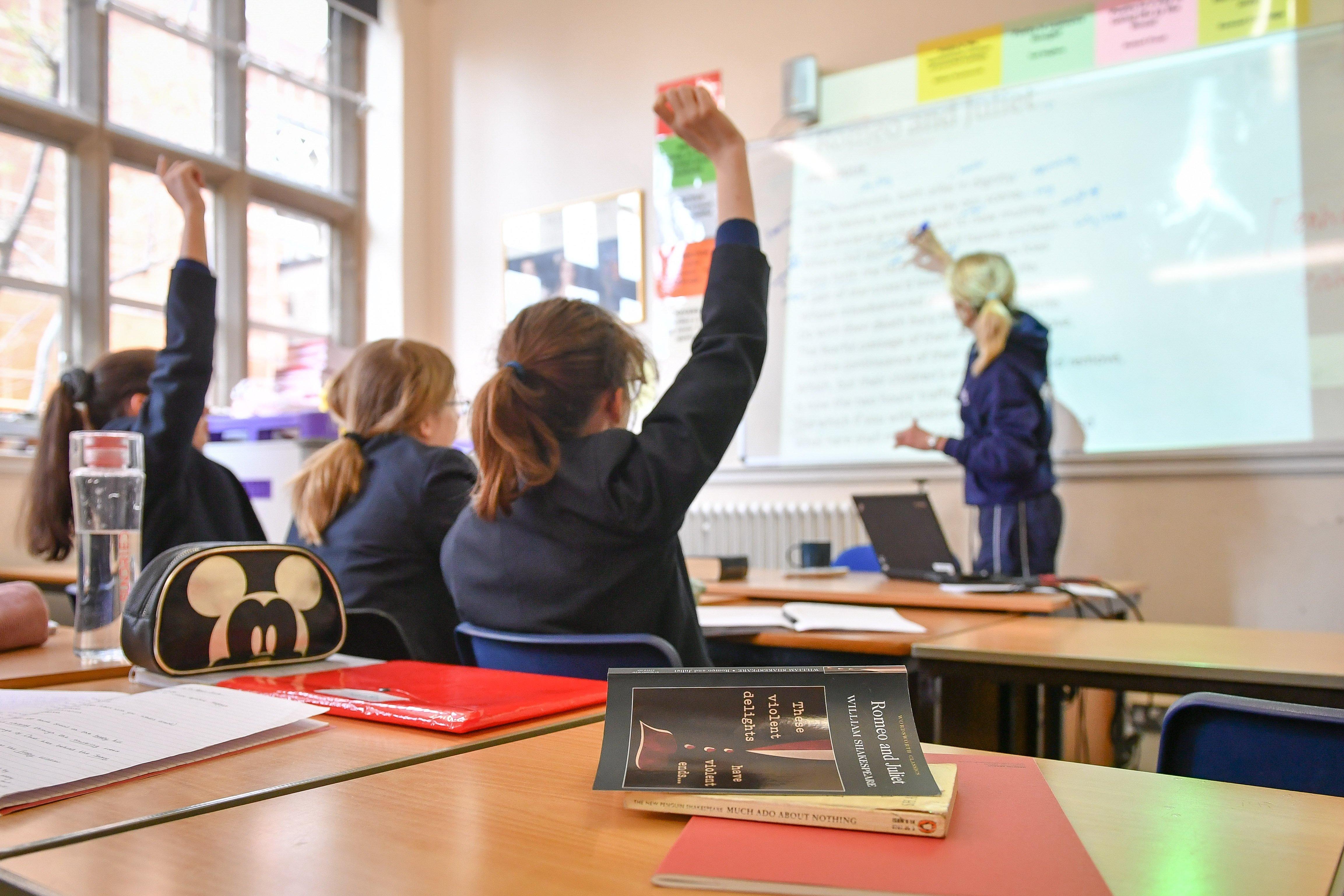 Teachers' coronavirus infection rates 'increase during lockdown'