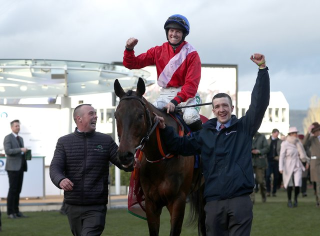 Jockey Rachael Blackmore is to be reunited with A Plus Tard in the WellChild Cheltenham Gold Cup