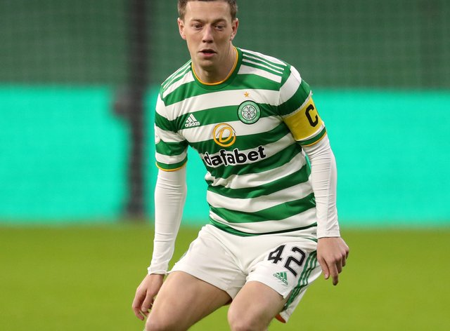 Celtic are playing for pride says Callum McGregor