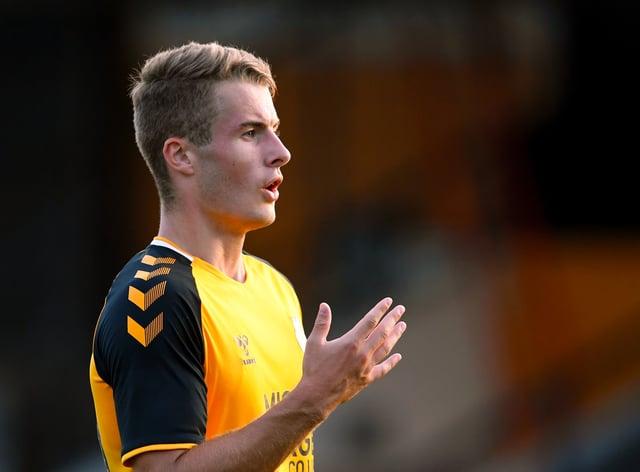 Andrew Dallas, on loan from Cambridge, was Weymouth's match-winne