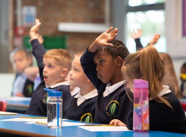 Wales is holding back a full return for school pupils until after Easter (Joe Giddens/PA)