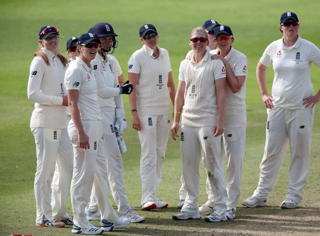 England Women in action