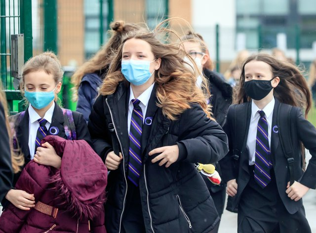 Pupils in England have returned to school for the first time in two months as part of the first stage of lockdown easing