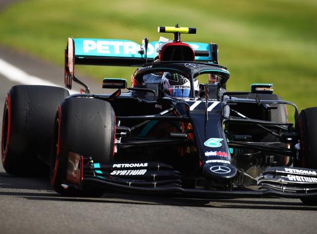 Valtteri Bottas was hit by issues as testing got under way