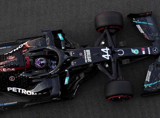Mercedes encountered trouble on the opening day of testing