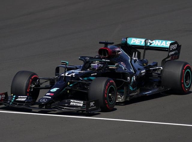 Lewis Hamilton spun into the gravel as Mercedes continued to struggle