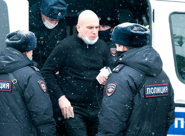Russia opposition arrests