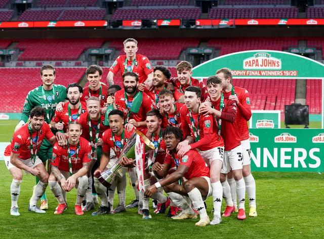 Portsmouth v Salford City – Papa John's Trophy – Final 2020 – Wembley Stadium