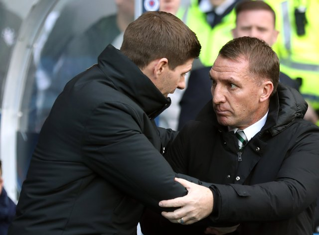 Brendan Rodgers believes Celtic should applaud Steven Gerrard's side