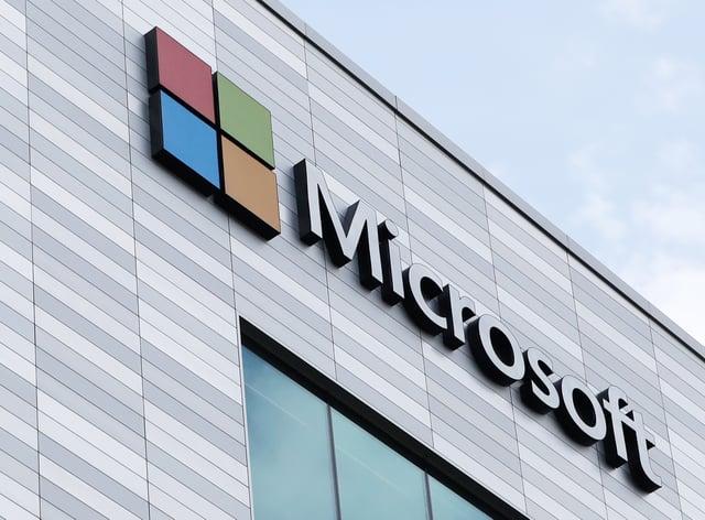 Microsoft offices in Dublin