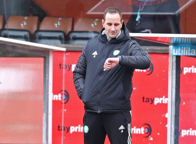 Celtic interim boss John Kennedy is looking forward to the visit of Rangers