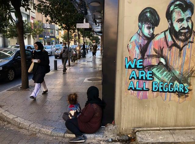 Beggars in Lebanon