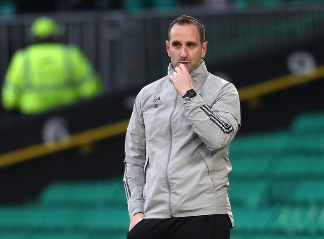 No guard of honour for champions Rangers says Celtic interim manager John Kennedy