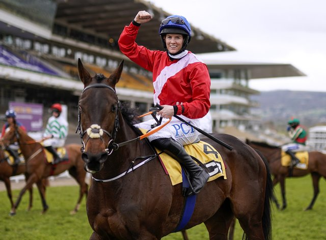 Rachael Blackmore was out on her own throughout the 2021 Cheltenham Festival