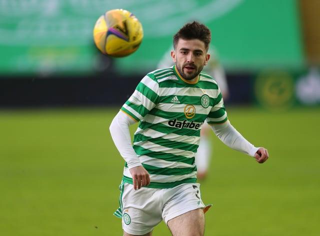 Celtic defender Greg Taylor has returned to training