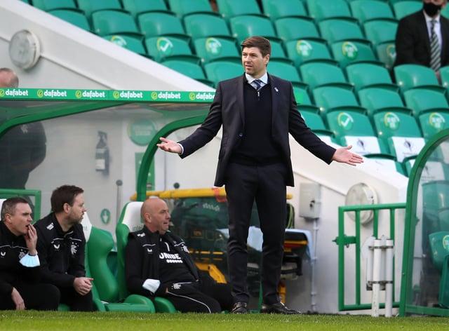 Rangers manager Steven Gerrard feels both Old Firm sides demonstrated