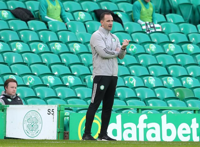 Celtic should have had derby penalty says interim manager John Kennedy