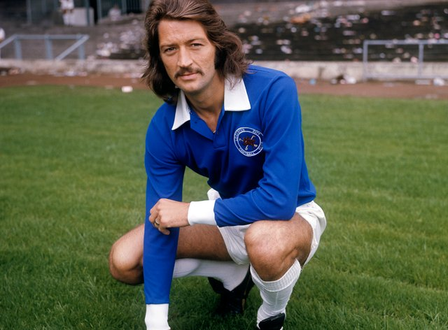 Frank Worthington during his time at Leicester