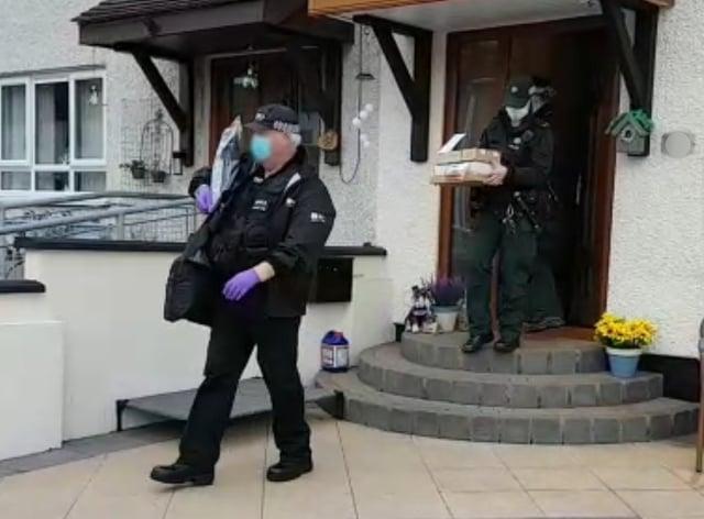 Paramilitary crime task force operation