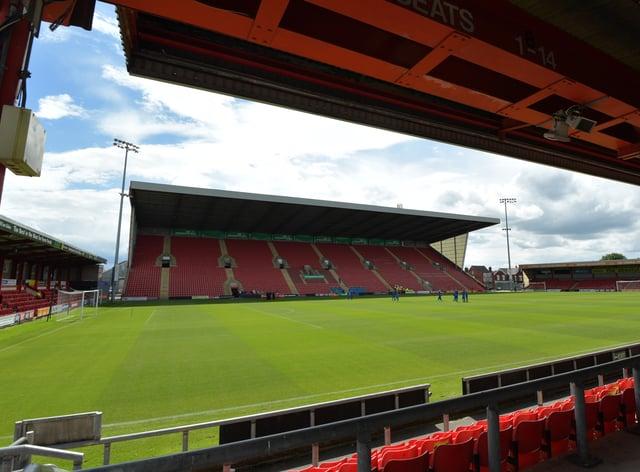 Crewe's Gresty Road stadium
