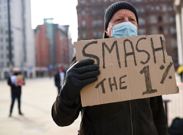 Nurses' pay protest
