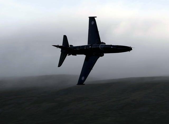 A Hawk jet