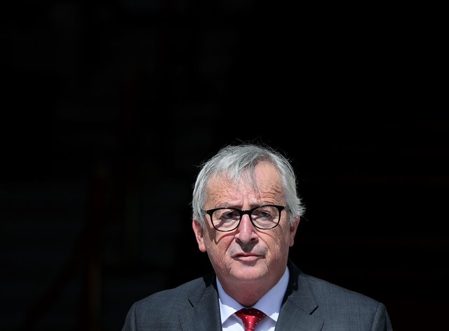 Jean-Claude Juncker (Brian Lawless/PA)