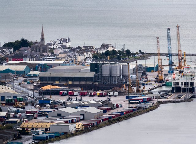 Narrow Water Point and Warrenpoint Port (Liam McBurney/PA)