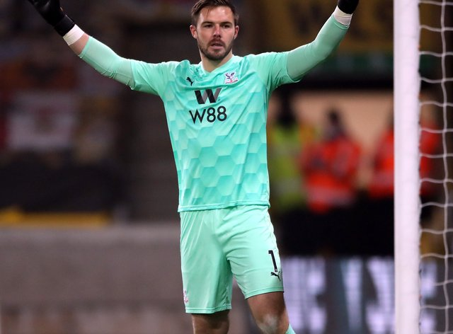 Jack Butland joined Crystal Palace from Stoke in the extended transfer window last October