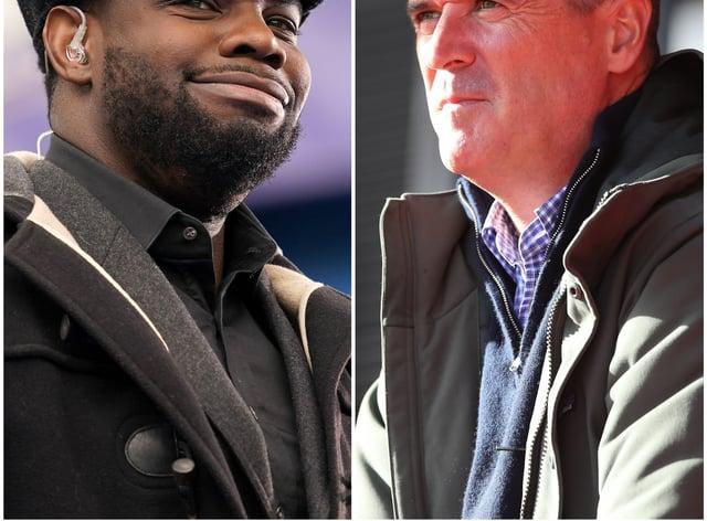 Micah Richard and Roy Keane