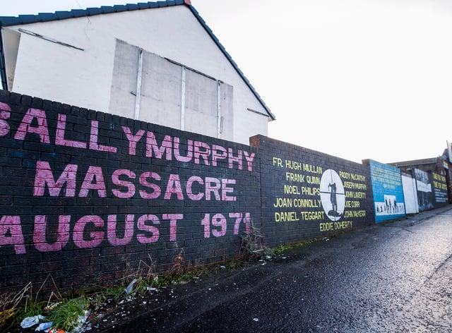 'Ballymurphy Massacre' artwork