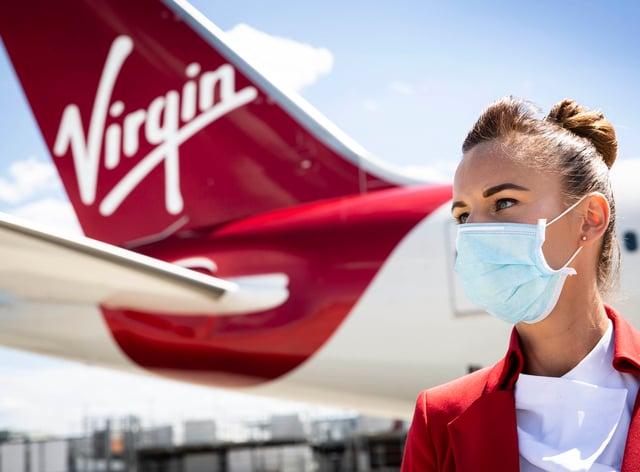 Virgin Atlantic staff