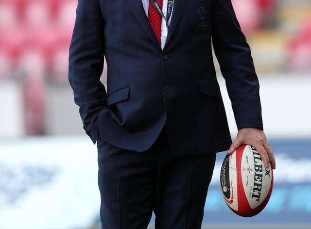 Wales head coach Wayne Pivac on the toculine