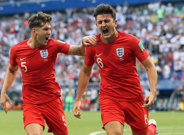 Harry Maguire and John Stones