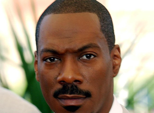Actor Eddie Murphy was inducted into the Hall of Fame